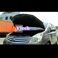 Grand Livina X Gear 2008 peredam hitam Vtech kap mesin mobil