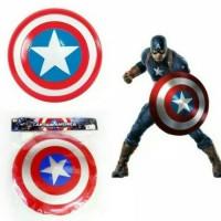 Koleksi Penggemar Mainan Tameng Avengers Captain America Shield LED