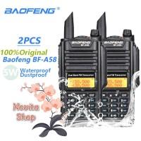 SEPASANG Radio HT Baofeng A58 PRO BF-A58 BF A58 Waterproof Ready Stok