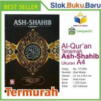 Buku Al Quran Terjemah Ash Shahib Ukuran A4