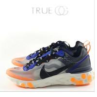 Nike React Element 87 Thunder Blue / Orange