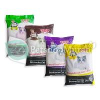 Pasir Top Clumping 20 kg / cat Litter / Bentonite 20kg / Gumpal Wangi - COFFE