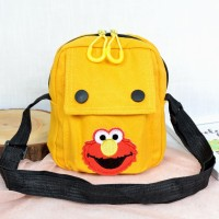Tas Elmo MINMIN - Tas Selempang kanvas sling bag MIni 7239/ 1159-5