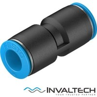 FESTO PUSH IN CONNECTOR QS-10 10MM ( FITTING )