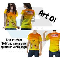 2season5   Baju Kaos Jersey PON XX Papua 2020 Custom Fullprint - Art 01 Pria, S