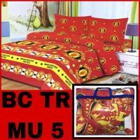 BAD COVER MURAH!!!SET KATUN SIZE no 1/2 (Sprei+bad cover) (