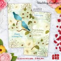 Custom Angpao Wedding Amplop Pernikahan Sangjit Desain Terbaru AW02