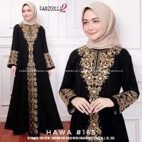 gamis muslim hitam real pict baju muslim hitam abaya turkey-hawa 165
