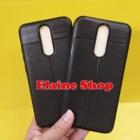 Aufo Focus Redmi 8 Xiomi 8 Silicon Hitam Anti Slip Slim Premium Leathe