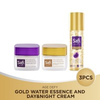 Safi Age Defy Gold Water Essence and Day&Night Cream