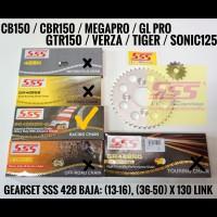 GIR SET SONIC 150 R / SUPRA GTR 150 BAJA 428 SSS HSBT