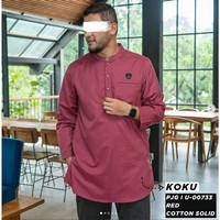 KOKU KURTA PJG I U-00733 RED SAMASE CLOTHES