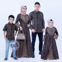 Batik couple gamis keluarga lonceng serut jessy c