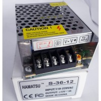 Step Down 110V 220V AC to 12V DC 3A Adaptor Trafo LED Power Supply