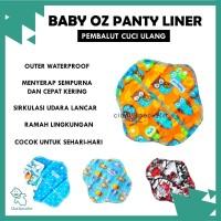ORIGINAL Baby Oz Pantyliner 20 cm/ Pembalut Wanita Cuci Ulang