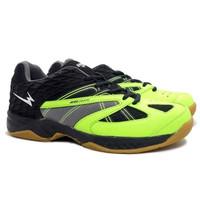 EAGLE WARDENS Sepatu Olahraga Bulutangkis Pria Badminton Shoes for Men - Hitam Citrun, 38
