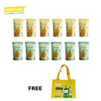 Rainbow Stick - Paket 12 + Free Tas Bekal Suni