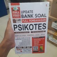 BUKU UPDATE BANK SOAL FULL PEMBAHASAN PSIKOTES CAT TPA + TBS + DVD