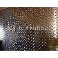 Plat Bordes Cetak / Plat Kembang Alumunium 1,5 mm x 40 cm x 40 cm
