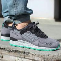Sepatu Asics Gel Lyte III Mt Mid Grey - Premium