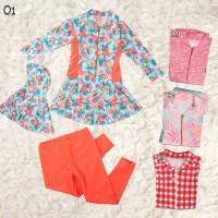 baju renang / diving muslim corak anak abg