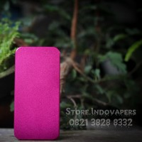 Backdoor V3 Aluminium Anodize Pink Costum Desain Dan Laser