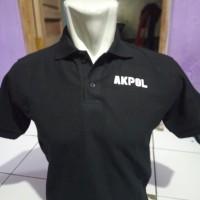tshirt Kaos baju polo AKPOL TARUNA