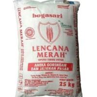 Tepung Terigu Lencana Merah 25 kg untuk gojek or grab