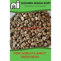 FINE ROBUSTA GARUT Jawa Green Bean Coffee biji kopi mentah Indonesia