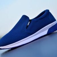 Sepatu Kets Adidas Jogging Slip On Slop Running Casual Pria Santai