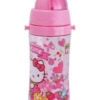 HOT SALE Tempat Botol Minum Anak Perempuan Karakter Hello Kitty 450ml