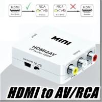 HDMI TO AV / RCA CONVERTER ADAPTER / MINIBOX HDMI2AV 1080P