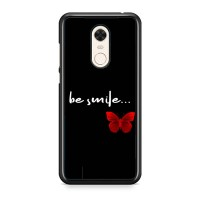 Casing Xiaomi Redmi 5 Plus Red Butterfly X00399