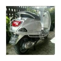 Aksesoris Crash Bar Crashbar Pelindung Body Vespa Lx S 125 iget Lxv