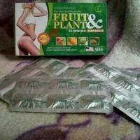 Pelangsing Perut Tubuh Badan Herbal Fruit & Plant Slimming Capsule