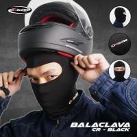 Cargloss BALACLAVA - all Black Full Face   Masker Balaclava
