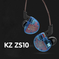 Knowledge Zenith KZ ZS10 Pro with Mic Hi-Res In Ear Monitor ORIGINAL