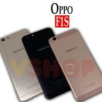 Backdoor Tutupan Baterai Casing Belakang Oppo F1S Gold Rose Gold