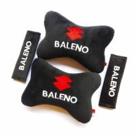 Asesoris Bantal mobil Bantal leher Bordir mobil Suzuki Baleno