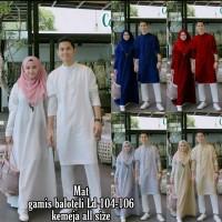 baju muslim couple arjuna gamis dan koko