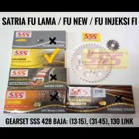 GIRSET SSS SUZUKI SATRIA FU/FU NEW FACELIFT/SSS BAJA 428 RANTAI 130 SB