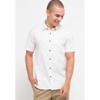 Manzone Kemeja Lengan Pendek ALTAIR SS Shirt White