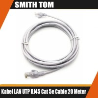 Kabel LAN UTP 20M RJ45 Cat 5e Cable 20 Meter terpasang konektor cat5e