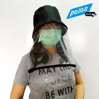 Topi Anti Ciprat Corona / Topi Pelindung Wajah - Model Lepas