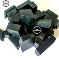potekan bahan rough blackjade