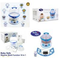 food maker Baby Safe 10 in 1 Steamer baby safe alat MPASI bayi steam