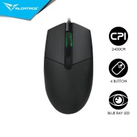 Mouse Alcatroz Asic Pro 8 High Speed Blue Ray 4 Button USB Mouse