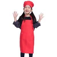 Topi Koki Chef dan Celemek Anak Super Bagus