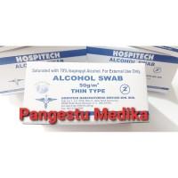 Hospitech Alcohol Swab 70% Isopropyl Alcohol