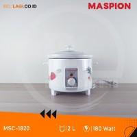 Maspion Slow Cooker MSC-1820 / MSC 1820